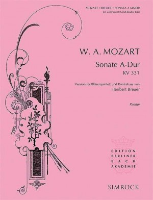 Mozart, W A: Sonata in A Major KV 331