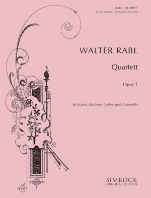 Rabl, W: Quartet op. 1