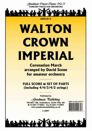 crown imperial coronation march piano duet arranged by david stone