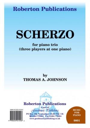 Johnson T: Scherzo For Piano Trio