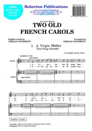 Cockshott: Two Old French Carols