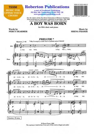 Fraser: Boy Was Born