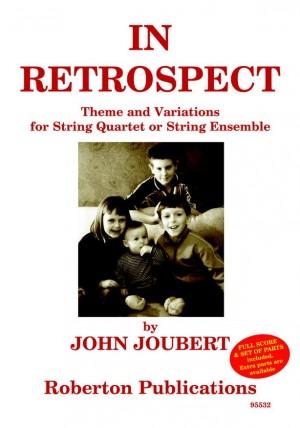 Joubert: In Retrospect Op.159 Sc+Pts
