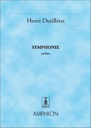 Dutilleux: Symphonie No.1