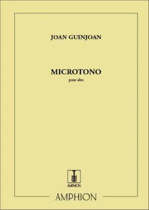 Guinjoan: Microtono