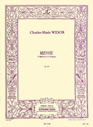 Charles-Marie Widor: Mass, Op. 36