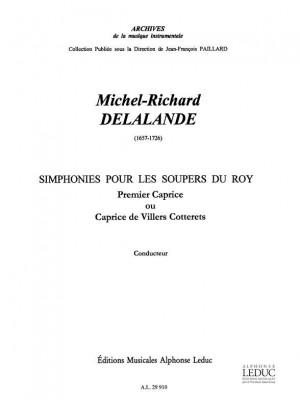 Michel-Richard Delalande: Michel Richard Delalande: Caprice No.1
