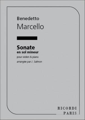 Marcello: Sonata in G minor