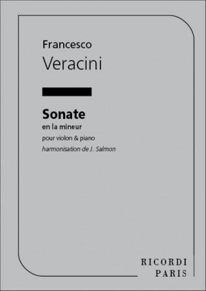 Veracini: Sonata in A minor