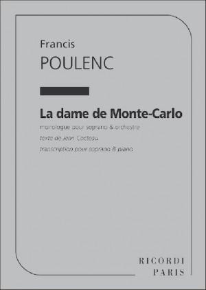 Poulenc: La Dame de Monte-Carlo