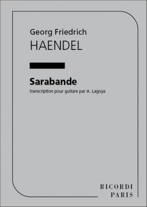 Handel: Sarabande (transc. A.Lagoya)