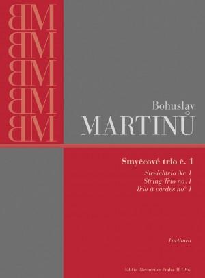 Martinu, B: String Trio No.1 (H.136) (1923/24)
