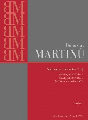 Martinu, B: String Quartet No.6 (H.312) (1946)