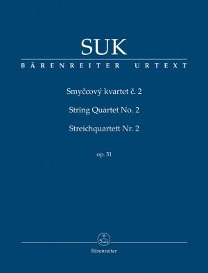 Suk, Josef: String Quartet no. 2 op. 31