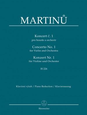 Martinu, Bohuslav: Concerto for Violin and Orchestra no. 1 H 226