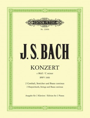 Bach, J.S: Double Concerto in C minor BWV 1060