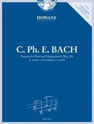 Bach: Sonata, Wq. 124 in e-moll