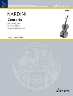 Nardini, P: Concerto in E Minor