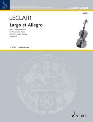 Leclair, J: Largo et Allegro Série 4