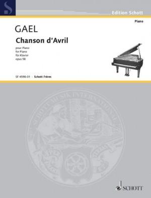 Gael, H v: Chanson d'avril op. 58