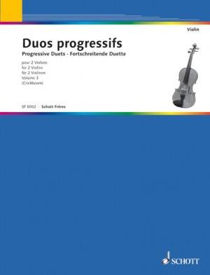 Crickboom, M: Duos progessifs Band 3