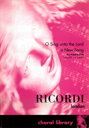 Pott: O Sing unto the Lord a new Song