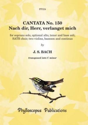 Bach: Cantata No. 150 Nach dir Herr verlanget mich (Score and Parts)
