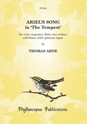 Arne: Ariel's Song in The Tempest