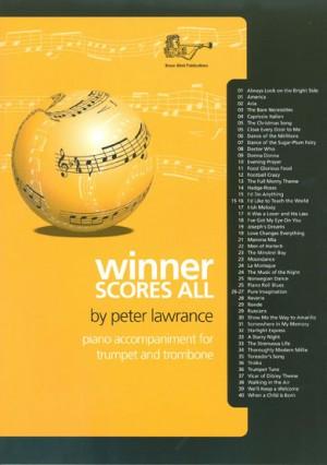 Winner Scores All Piano Accompaniment for Trumpet/Trombone   Presto