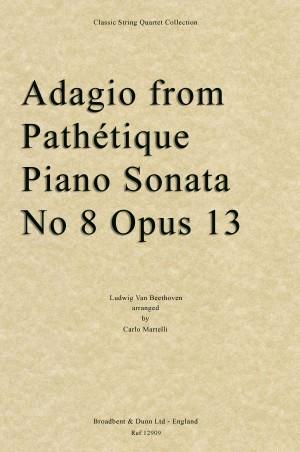 Beethoven, Ludwig Van: Adagio from Pathétique Piano Sonata No 8, Opus 13