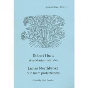 Hunt: Ave Maria Mater Dei/Northbroke: Sub tuam protectionem Product Image