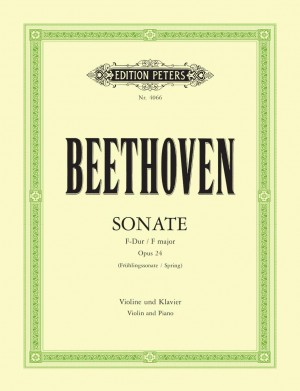 Beethoven: Sonata in F Op.24 'Spring'
