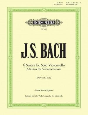 Bach, J.S: 6 Cello Suites BWV 1007-1012