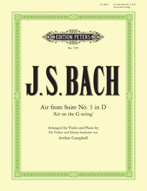 Bach, J.S: 'Air on the G String' from Orchestral Suite No.3 in D
