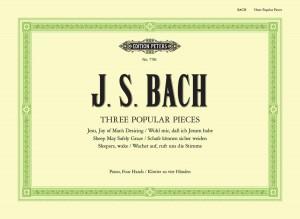 Bach, J.S: Three Popular Pieces arr. Piano Duet (Jesu Joy; Sheep May Safely Graze; Wachet Auf)