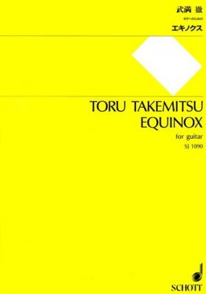 Takemitsu, T: Equinox