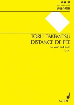 Takemitsu, T: Distance de Fée