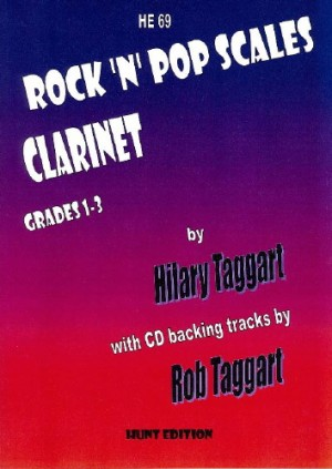 Taggart: Rock 'N' Pop Scales for CLARINET with FREE CD