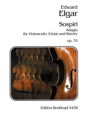 Elgar Sospiri Viola/Cello
