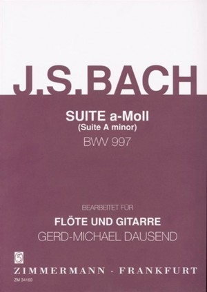 Johann Sebastian Bach: Suite In A Minor BWV 997
