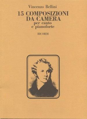 Vincenzo Bellini: 15 Composizioni Da Camera Product Image