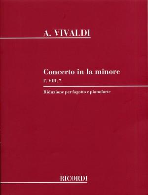 Vivaldi: Concerto FVIII/7 (RV497) in A minor (red. A.Ephrikian) Product Image