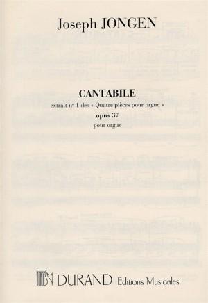 Joseph Jongen: Quatre Pieces Op.37 No.1 'Cantabile' (Organ)