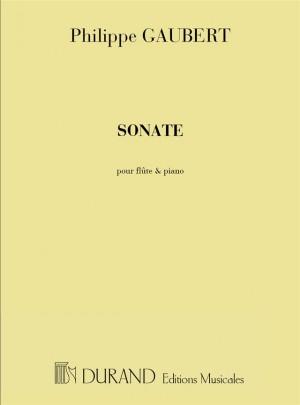 Philippe Gaubert: Sonate Pour Flute Et Piano