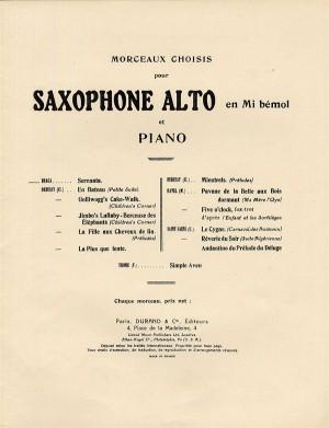 Gaetano Braga: La Serenata (Saxophone and Piano)