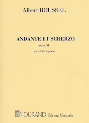 Albert Roussel: Andante Et Scherzo Op.51 (Flute and Piano)