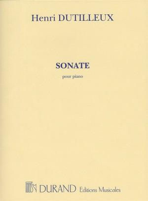 Henri Dutilleux: Sonate Pour Piano
