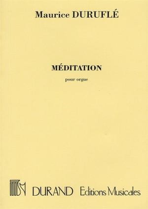 Duruflé: Méditation
