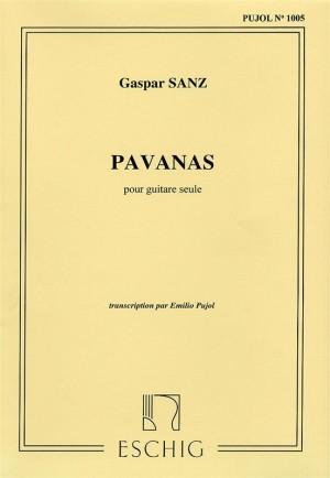 Sanz: Pavanas (Pujol No.1005)