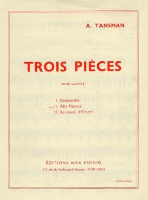 Alexandre Tansman: Trois Pieces - No.2 Alla Polacca